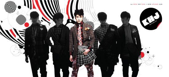 Album jacket of Kim Hyung-joon's 1st solo album [S-Plus Entertainment]
