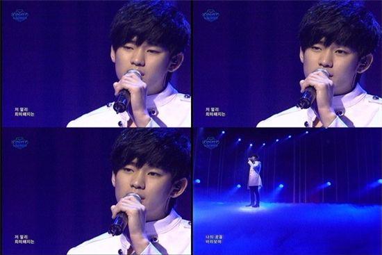 김수현, 가수로 첫 선··매력적 음색·가창력 폭발 '화들짝'