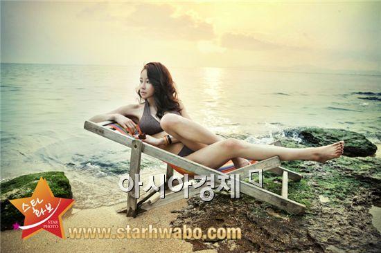 채민서, 화보 통해 환상 몸매 공개 '후끈'