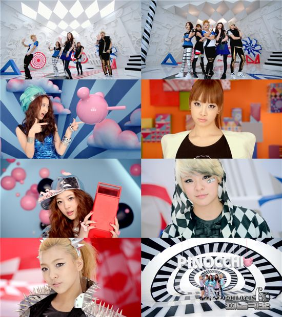 """Teaser clip to f(x)'s new title song """"PINOCCHIO"""" [SM Entertainment]"""