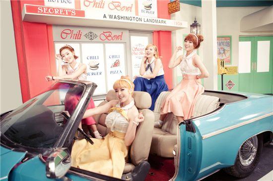 Girl group Secret [TS Entertainment]