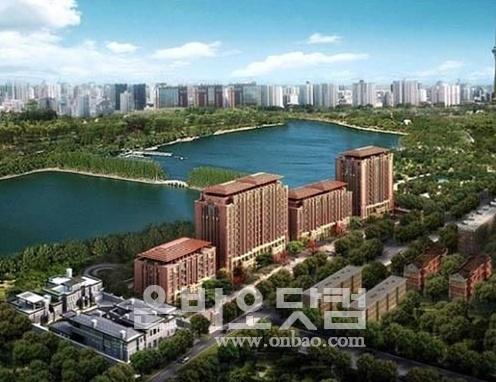 ▲ 베이징 사상 최고가 주택인 '댜오위타이 7호 건물' 조감도