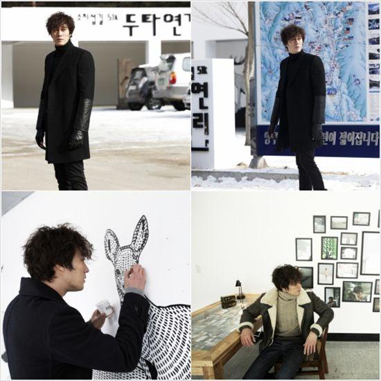 Actor So Ji-sub at Dutayeon Gallery in Yanggu County, Gangwon Province [51K]