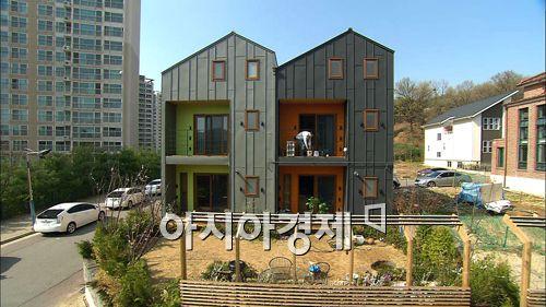 MBC스페셜에서 다뤄 화제가 된 '땅콩집' 건축 현장
