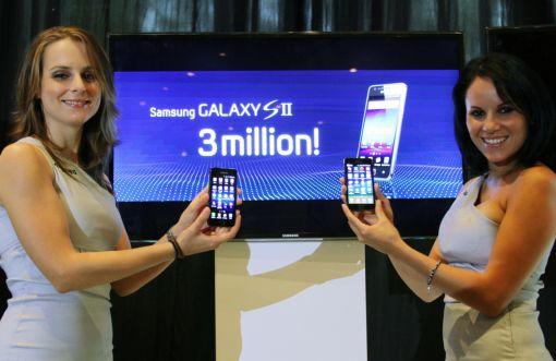 삼성 '갤럭시S2' 글로벌 판매량 300만대 돌파