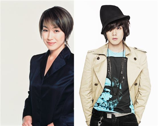 Japanese actress Reiko Takashima (left) and FTIsland member Lee Hong-ki (right) [Broad Storm]