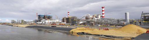 한국광물자원공사가 지난 2013년부터 니켈을 생산하기 위해 세운 아프리카 마다카스가르의 암바토비 플랜트 시설.(사진제공=한국광물자원공사)