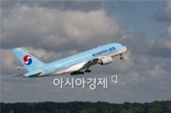 대한항공 A380, 6개월 간 40만명 태우고 지구 150바퀴
