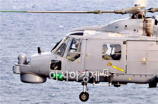 해군에서 1991부터 도입해 개량한 아구스타 수퍼링스(Mk 99) 해상작전헬기