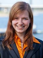 독일 해적당의 베를린 시의원 후보 수잔느 그라프