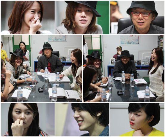 "Cast of upcoming series ""Love Rain"" (tentative title) [Tree J. Company]"