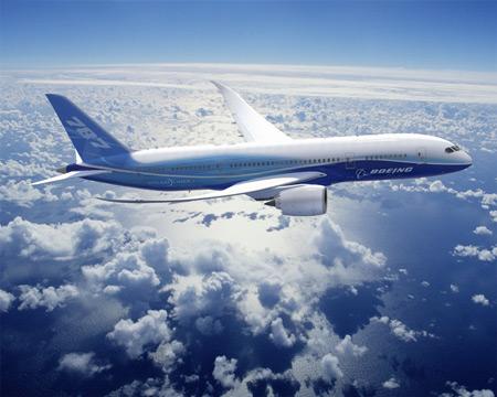 보잉 787 '드림라이너' 日ANA에  첫 인도