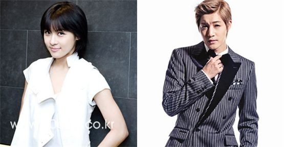 Actress Ha Ji-won (left) and singer Kim Hyun-joong (right) [10Asia/KEYEAST]