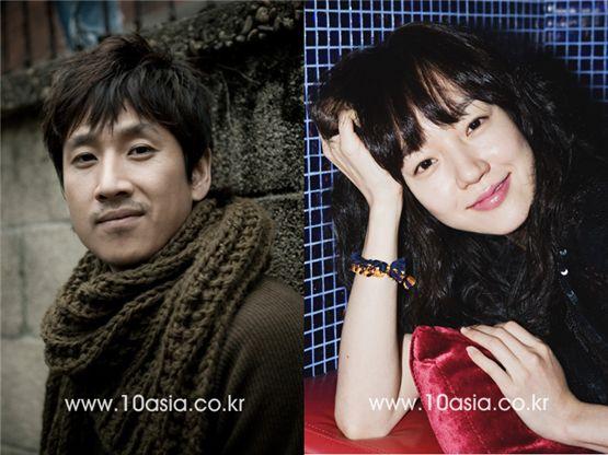 Lee Sun-kyun (left) and Lim Soo-jung [Lee Jin-hyuk/Chae Ki-won, 10Asia]