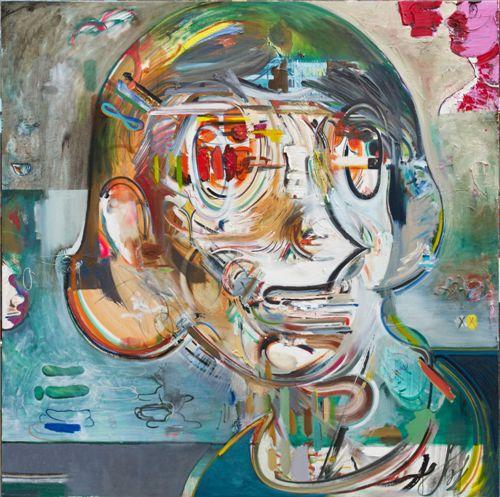 ▲ 지평선 horizon 1-2 ,2010-2011, oil on canvas, 200x200
