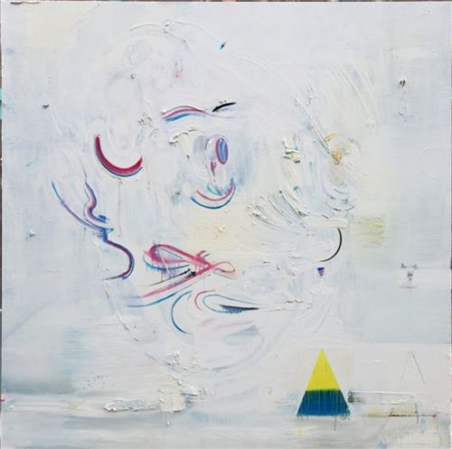 ▲ 뭉게구름 cumulus, 2010-2011, oil on canvas, 200x200