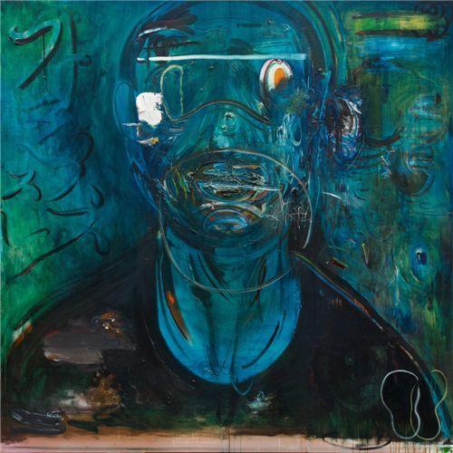 ▲ 별똥별 meteor, 2010-2011, oil on canvas, 200x200