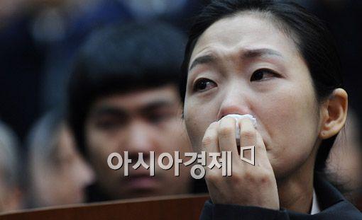[포토] '눈물 흘리는 유가족'