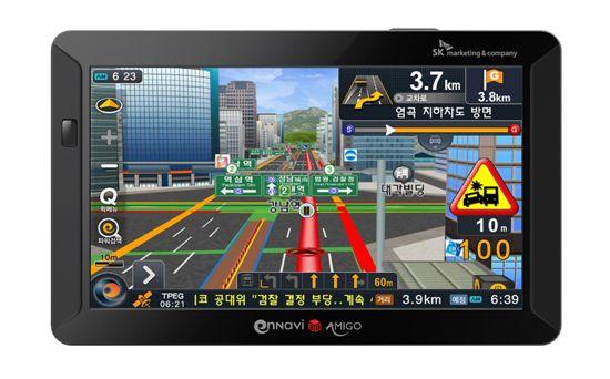 SK M&C, 길찾기 쉬워진 3D 내비게이션 '아미고' 출시