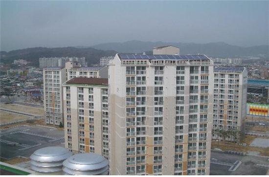 LH, 국민임대주택 태양광 보급사업(CDM) UN 등록