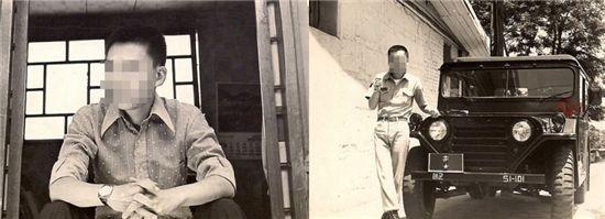 타진요 초대 카페지기 '왓비컴즈'가 공개한 자신의 과거 사진.