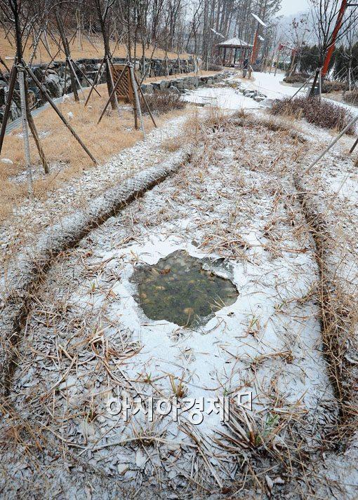 [포토] 눈 내린 서울