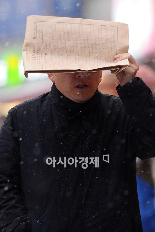 [포토] '눈 앞이 캄캄'