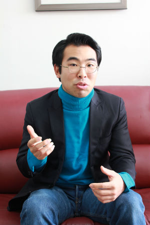 기업가정신을 찾아 세계 일주한 송정현씨.