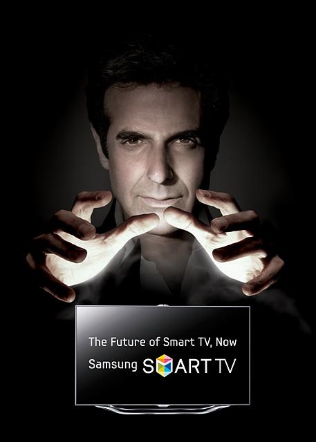 삼성 스마트TV 모델에 코퍼필드가 선정한 까닭은?