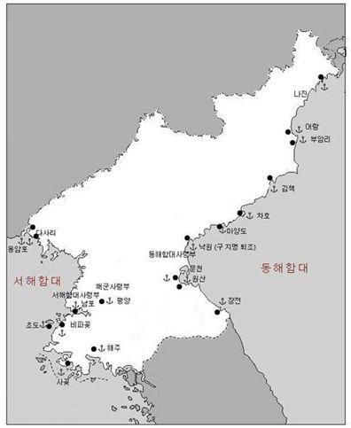 완공된 북한의 공기부양정 기지