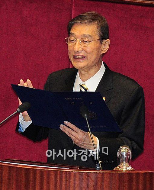 [포토] 임기 한달 국회의원 탄생