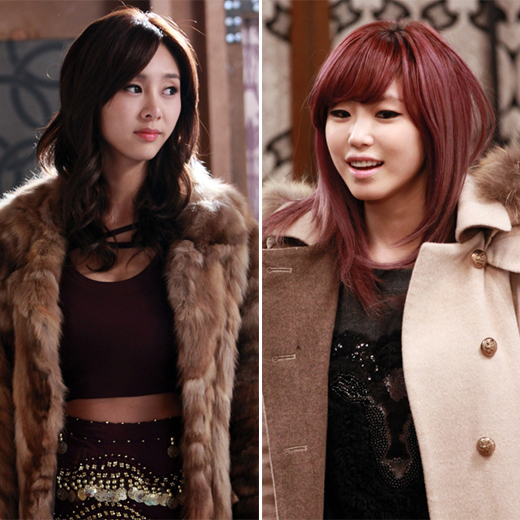 G.NA (left) and Secret's Hyo-seung (right) [SBS]