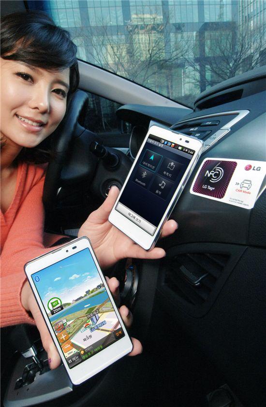 LG전자, NFC 기반 '옵티머스 LTE 태그' 출시