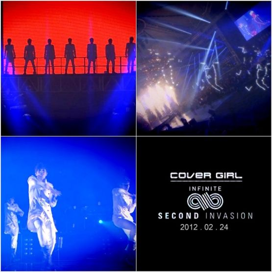 """Still images from INFINITE's teaser video of """"Cover Girl"""" [Lune Communications]"""