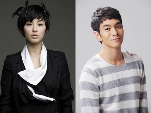 Actress Kang Hye-jung (left) and actor Lee Gyu-hwan (right) [CJ E&M]