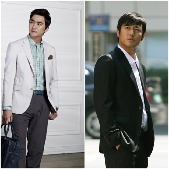 Actors Kim Seok-hoon and Jo Han-sun [LOEN Entertainment]