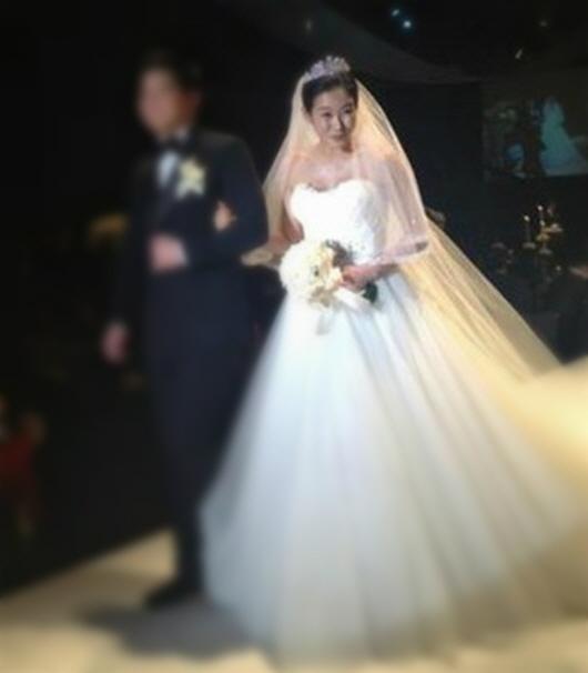 ▲사진 출처=이지혜 트위터 (현영의 결혼식 현장, 현재는 삭제된 상태다)