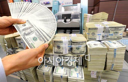 [포토] 외화보유액 3158억달러…최고치 경신
