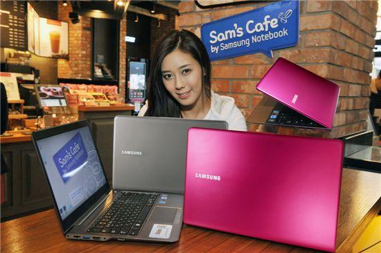 삼성전자, 울트라북 '핑크' '브라운' 색상 출시