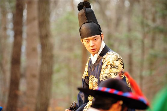 Park Yuchun playing Prince Lee Gak from Joseon Dynasty [SBS]