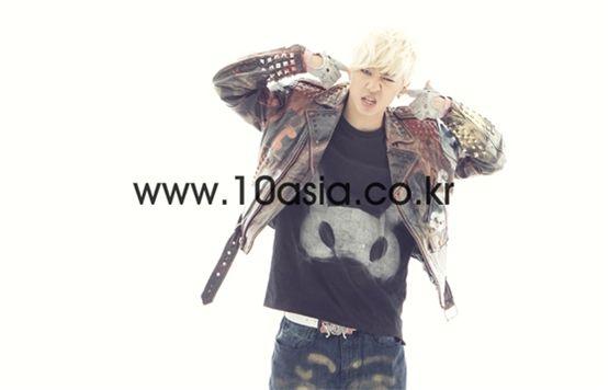 B.A.P member Bang Yong-guk [Lee Jin-hyuk/10Asia]