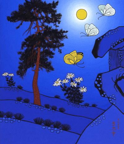 가을밤(이희중 2008)