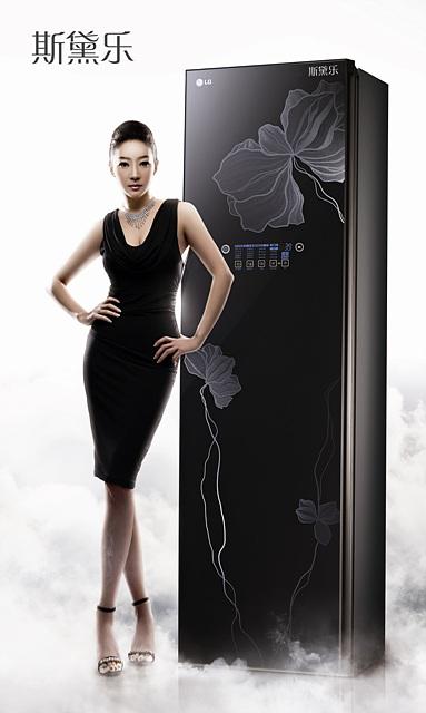중국 '트롬 스타일러'(중국어 모델명: LG Styler 斯黛樂) 제품 이미지