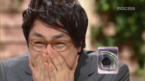 ▲ 김한석 득녀, 생방송 도중 눈물=MBC '기분 좋은 날' 방송화면 캡쳐
