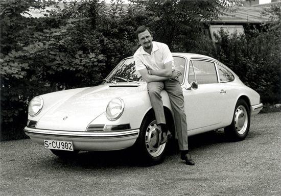 포르쉐 911 디자이너 사망