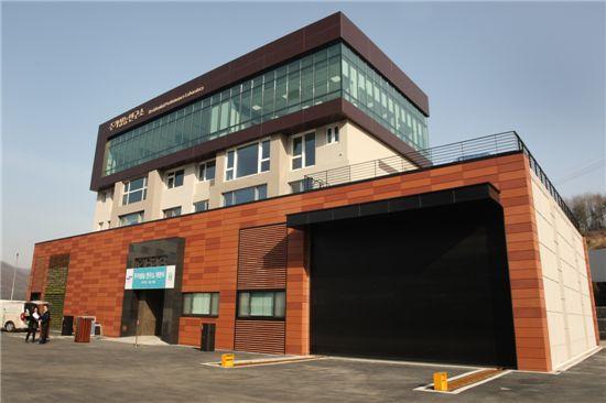 용인 동백 래미안 주거성능연구소 전경