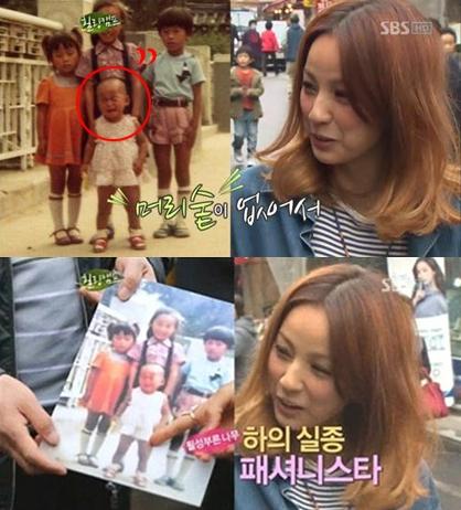 ▲ 이효리 삭발 사진(출처: SBS '힐링캠프 기쁘지 아니한가')