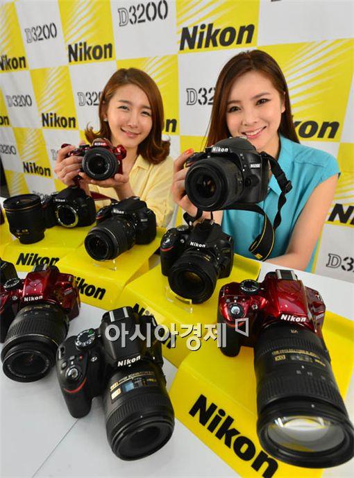 [포토] 니콘 D3200 출시
