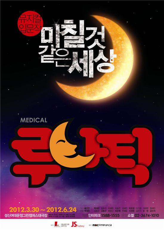 뮤지컬 '메디컬 루나틱' 포스터