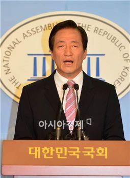 """정몽준 """"한·중 FTA, 농수산물 등 민감 품목 제외해야"""""""